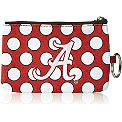 NCAA Alabama Crimson Tide Coin Purse Keychain, One Size, Multicolor