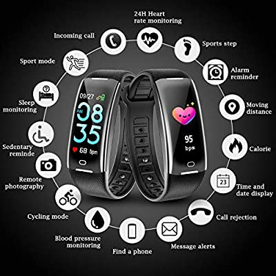 KARSEEN Fitness Tracker Smart Watch H3 Color Screen Heart Rate Monitor Phone Enabled IP67 Waterproof Pedometer Sports Watch for Men