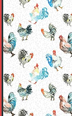 Chicken Lover Journal Notebook for Women - Watercolor Country Hen Theme: DIY Blank Writing Note Book, 100 Lined+ 8 Blank Pages, Travel Size (Crazy Chicken Lady Gifts Vol 1)