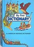 My First Dictionary, Stephen Krensky, 0395292107
