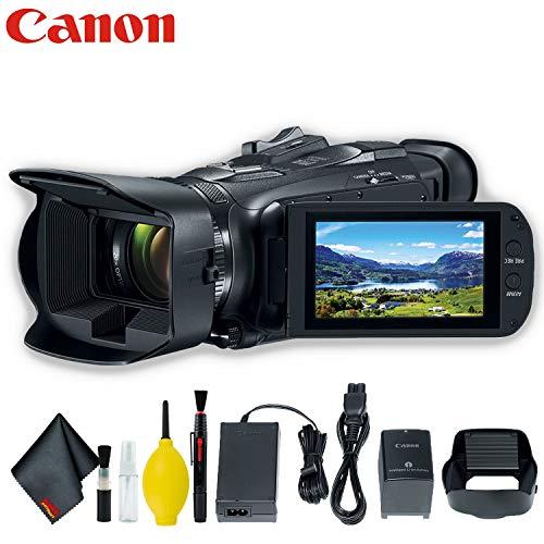 Canon Vixia HF G50 UHD 4K Camcorder (Black) (US Model) - Starter Bundle Canon Starter Kit Camcorder