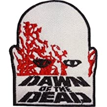 Dawn of the Dead Patch Embroidered Iron / Sew on Badge Horror Movie Zombie Costume Souvenir Applique