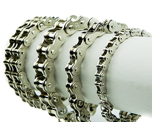 Heavy duty Silver Steel Bracelet Jewelry product image