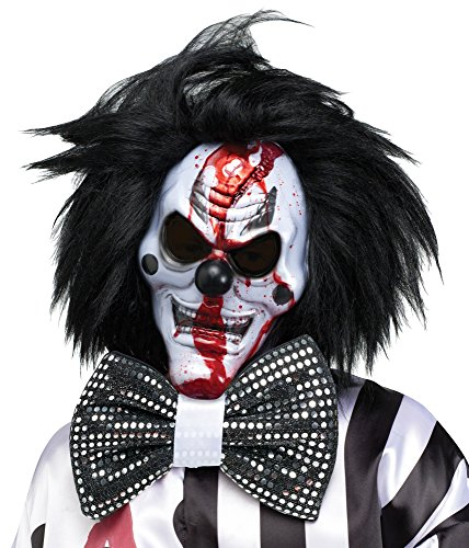 Bleeding Killer Clown Mask Costume Accessory -