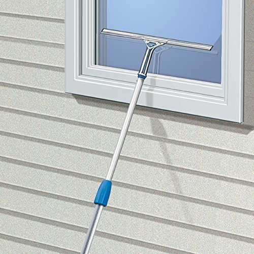 Unger Professional Stainless Steel Heavy Duty Squeegee 8