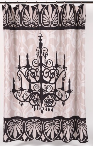 (Carnation Home Fashions Lumiere Fabric Shower)