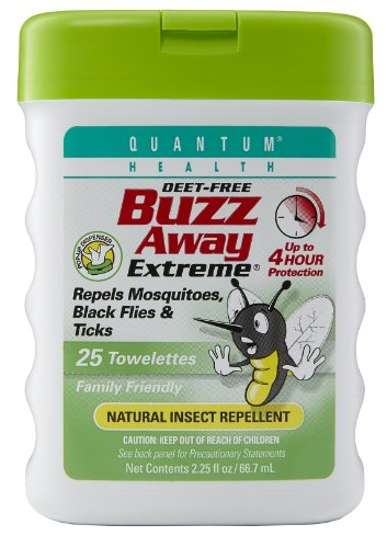 Quantum Buzz Away, Extreme Pop-up Dispenser, 25 Towelettes