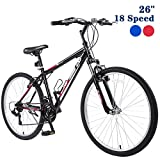 "GTM 26"" Mountain Bike 18 Speed Bicycle Shimano Hybrid"