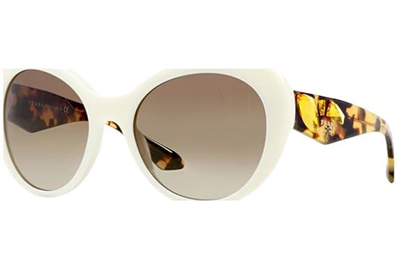 Prada Voice PR26QS gafas de sol, Blanco (Ivory 7S31X1 ...