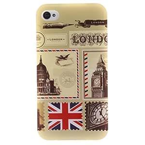 Case iPhone 4 Funda TPU Case High Quality Suave Carcasa para iPhone 4 Funda iPhone 4S Bumper Protective Cover - Sobres de Londres