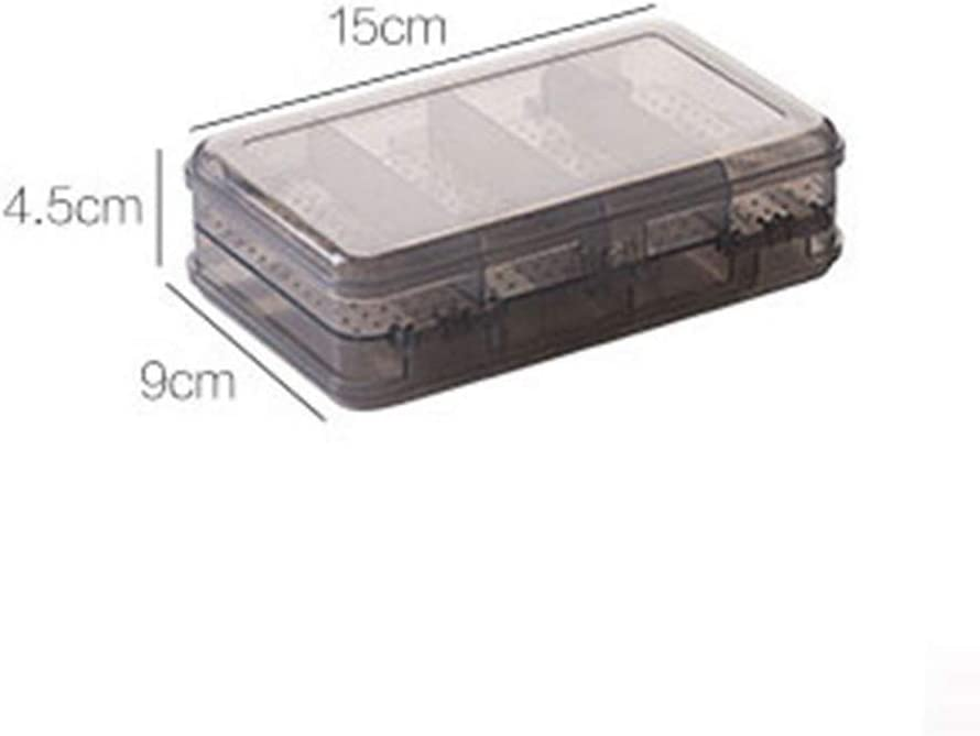 Clear 4-Inch Shipwreck Beads Plastic Bead Storage Flower Shaped Box with 7 Compartments 4-Pack