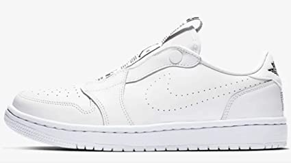 on sale 8051a 6d545 Amazon.com: Jordan Air 1 Women's Retro Low Slip White/Black ...