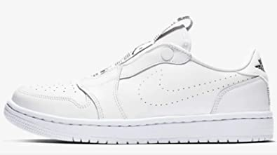 size 40 a6158 edcec Amazon.com | Jordan Air 1 Women's Retro Low Slip White/Black ...