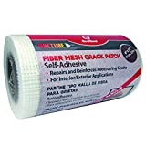 "Tools & Hardware : Red Devil 1226 Onetime Fiber Mesh Crack Patch 6"" x 75' Wall Repair Fabric"
