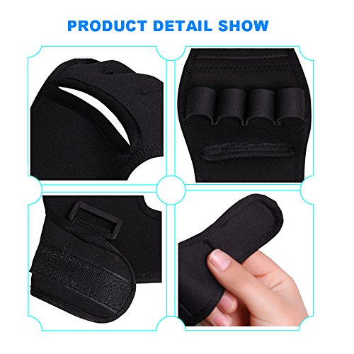 Enshey Rehabilitation Training Gloves Finger Splint Brace Ability Finger Gloves Brace Elderly Fist Stroke Hemiplegia Finger Anti-Spasticity Rehabilitation Auxiliary Training Gloves by Enshey (Image #3)'