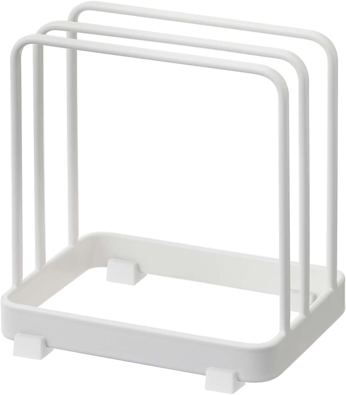 Yamazaki Home Plate Cutting Board Stand – Kitchen Storage Rack Holder Organizer