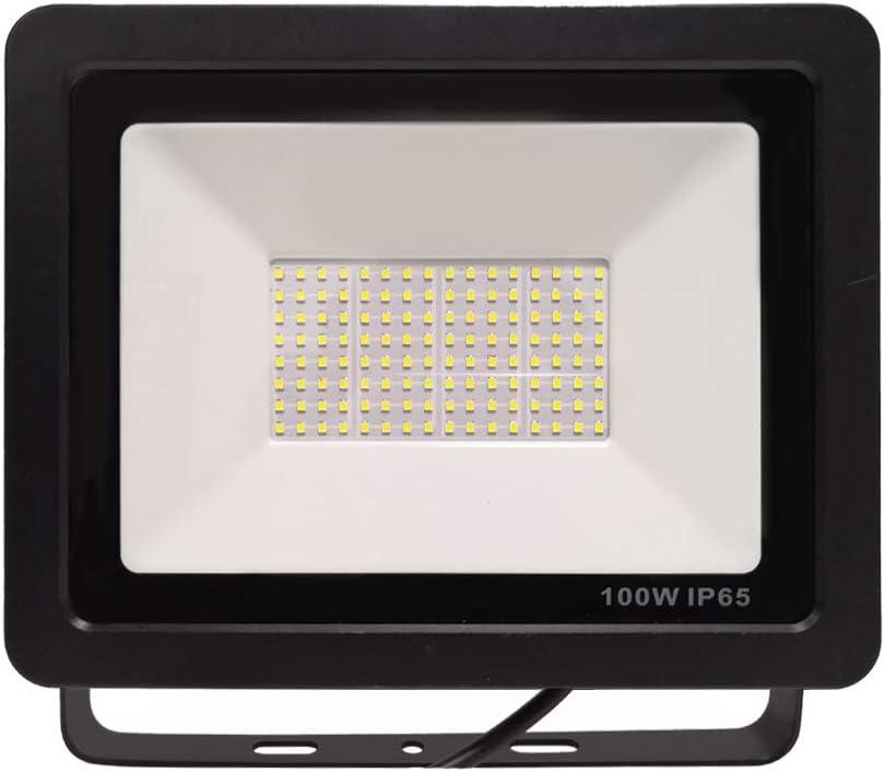 2X LED Fluter LED Strahler Außen 100W Scheinwerfer Flutlicht Superhell Kaltweiß
