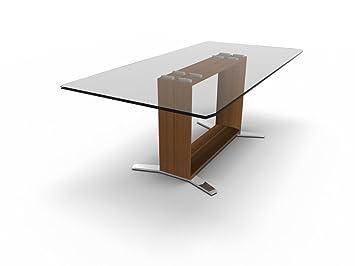 Schreibtisch Mit Glasplatte Arche Designer Glasschreibtisch Design