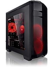 Megaport PC Gamer - AMD FX-8320E 8x4.00 GHz Turbo • GeForce GTX1050Ti • 16Go DDR3 • 1To • Windows 10 • Unité Centrale Ordinateur de Bureau PC Gaming PC Ordinateur Gamer