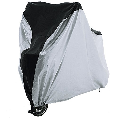 Reehut Bike Cover - 190T Polyester - XL - Heavy Duty Ripstop Material, Waterproof & Anti-UV - Protection from All Weather Conditions for Mountain, 29er, Road, Cruiser & Hybrid Bikes
