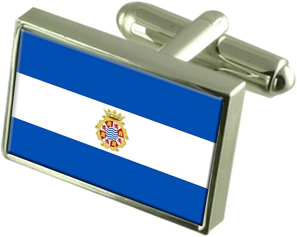 Select Gifts Jerez Ciudad Bandera España Gemelos: Amazon.es: Joyería