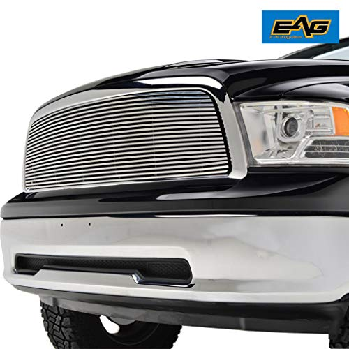 EAG Chrome Billet Grille+Shell for 09-12 Dodge Ram 1500