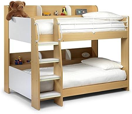Letti A Castello Per Bambini Design.Struttura Letto A Castello Per Bambini Con Gradino Design