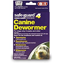 8in1 Safe-Guard Canine Dewormer for Medium Dogs, 3 Day Treatment