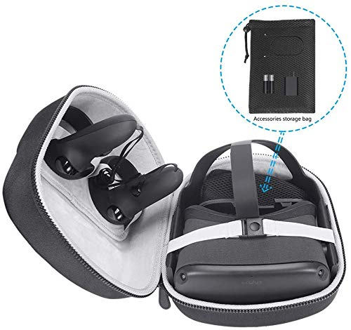 Oriolus Hard Case for Oculus Quest All-in-one VR Gaming Headset (Black)