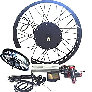 3000w hub motor electric bike conversion kit for Fastest electric bike hub motor