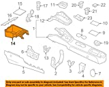 Volkswagen VW OEM 11-14 Jetta Console-Storage Tray 5C7857925A81U