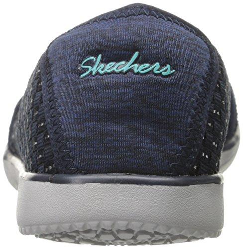 Navy Appariscente Skechers Moda Sneaker Spectrum w5HqfIB