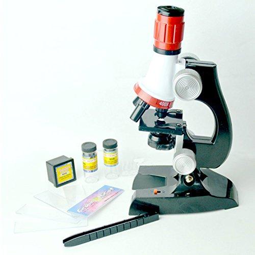 VT BigHome Kids Child Microscope Kit Lab LED 100X-1200X Home School Educational Toy Gift Biological Microscope hot