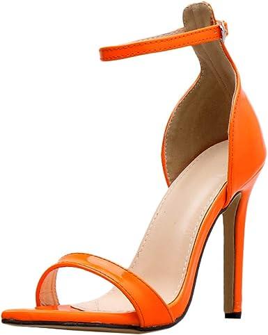 Women/'s Gladiator Bow Chunky Heel Platform Open Toe Clubwear Wedding Sandals