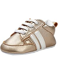 FireFrog Baby Boy Girl Lace Up Fashion Sports Sneakers First Walker Toddler Crib Shoes