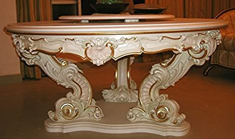 Cena barocca - Tavolo in barocco veneziano Vp9974-1,7: Amazon.it ...