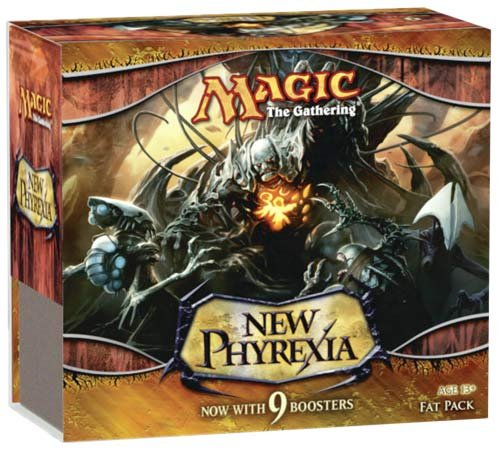 Magic New Phyrexia Fat Pack englisch [Edizione   Germania]
