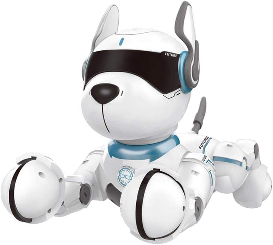 FOONEE Smart Robot Perro, Control Remoto Inteligente Robot Cachorro Interactivo Chippies Walking & Dancing Robort Perro con Carga USB: Amazon.es: Hogar