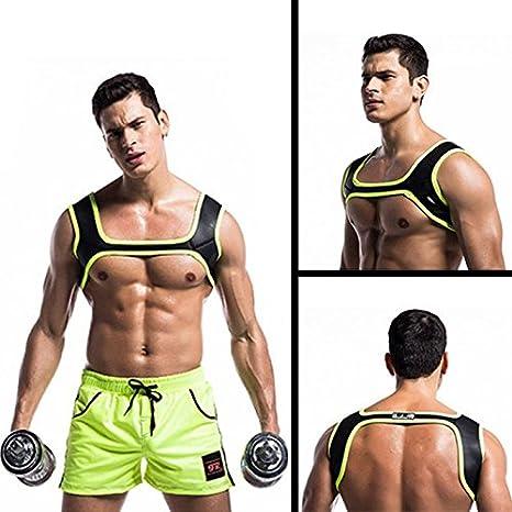 Beautyrain 1 PC Hombre Neopreno Deportes Correa para el Hombro ...