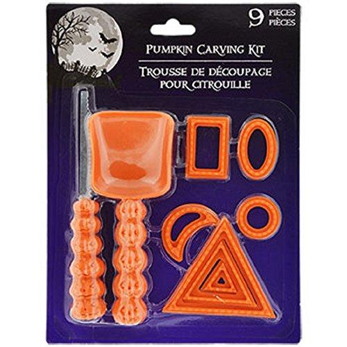Hallo (Cute Halloween Pumpkin Carving Stencils)