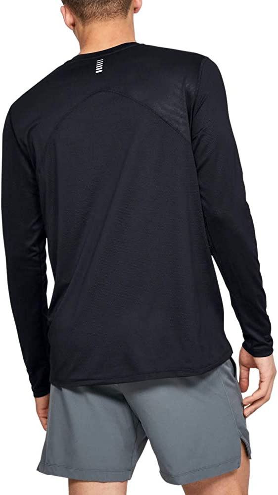 Under Armour Mens Qualifier Long-Sleeve T-Shirt