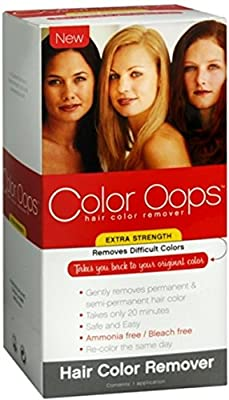 Color Oops Hair Color Remover Extra Strength 1 Each