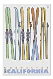 Skis in Snow - Northstar, California (Premium 1000 Piece Jigsaw Puzzle for Adults, 20x30, Made in USA!)
