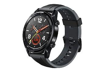 Huawei Watch GT Sport Silicone Strap FTN-B19 Noir Graphite SIM Free