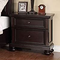 ACME Grayson Dark Walnut Nightstand