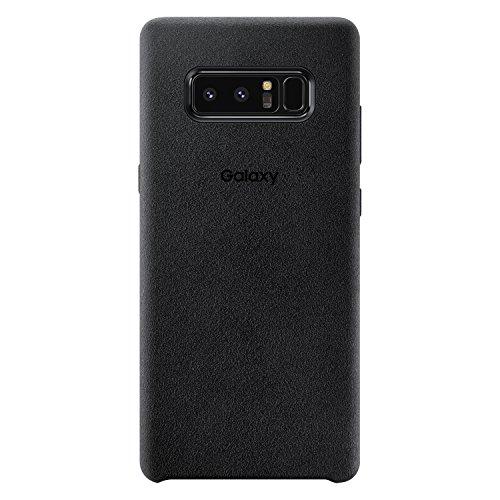 Galaxy Note8用 Alcantara Cover【Galaxy純正 国内正規品】ブラック EF-XN950ABEGJP