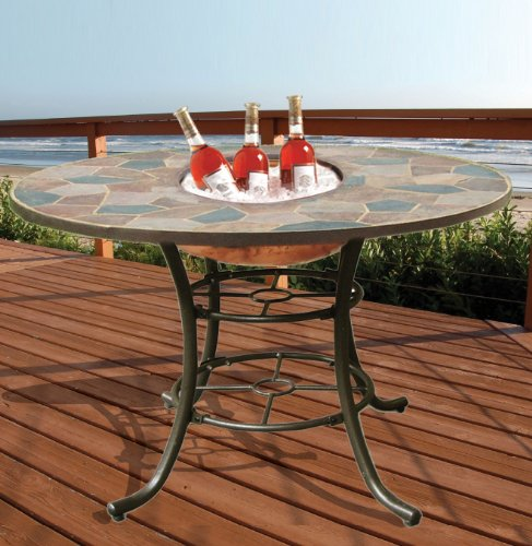 Deeco Consumer Products Deeco DM-104201 3-in-1 Rock Canyon Dining Table (Deeco Rock)