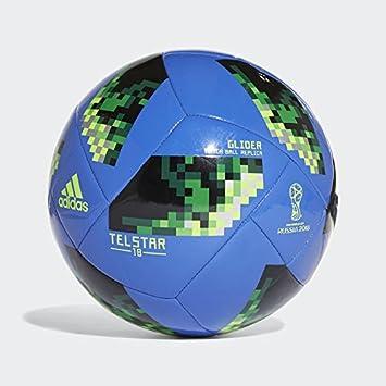 adidas Fussball Telstar 18 World Cup Glider WM 2018 Hi-Res Blue s18 solar 53ad8b19d18ed