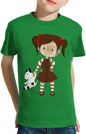 latostadora - Camiseta Nina para Nino y Nina Verde Pradera XXL: Amazon.es: Ropa y accesorios