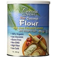 Coconut Secret -2 pk Coconut Flour, Gluten-Free, High Fiber, 16oz by Coconut Secret